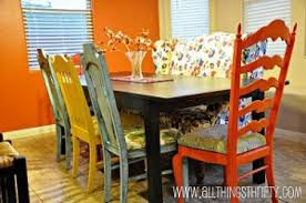 Multi Colored Kitchen Table Chairs Kitchen Design