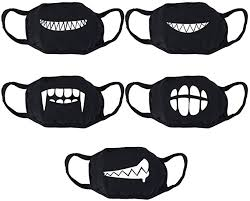 Vorcool Unisex <b>Mouth</b> Guard Mask, <b>Cotton Anti</b>-<b>Dust Face</b> Mask ...