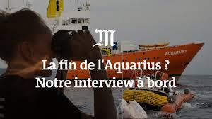 Pour Les Migrants En Mer Le Plus Grand Danger Ce Sont La Politique