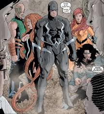 we get some fun glimpses into inhuman society as well as the bigger characters such as videmus gorgon medusa and black bolt