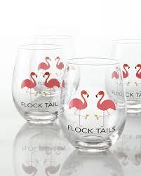 flocktails stemless glasses set of 4