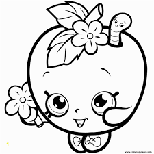 Shopkins Free Coloring Pages To Print Print Fruit Apple Blossom