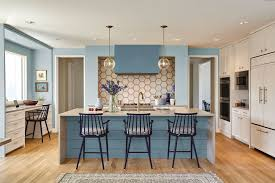 40 Blue Kitchen Ideas Lovely Ways To Use Blue Cabinets And Decor
