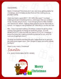 Printable Santa Letters Reindeer Claus Best Santa Letter Template