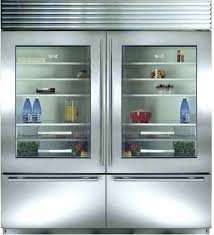 sub zero commercial refrigerator. Fine Commercial Glass Front Refrigerator Freezer Door Sub Zero  Dual Installation With Wide Grille Commercial  On