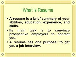 What Is Resume Classy Technical Writing Resume What Is Resume  A Resume Is A Brief