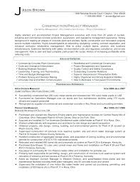Project Coordinator Resume Construction Assistant Project Manager ...