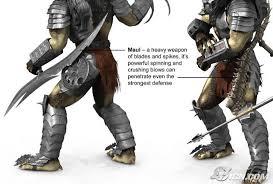 predator arm blade. maul predator arm blade t