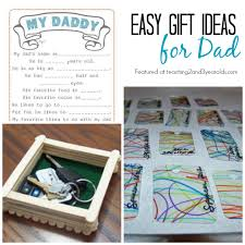 homemade father s day gifts