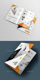 100 Corporate Bi Fold Brochure Template Design O Graphy