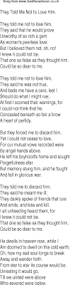 Love Lyrics Quotes Love Songs Quotes For Him