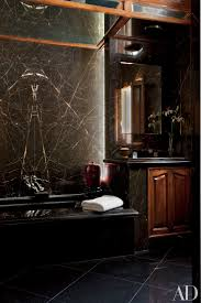 Best Bath Decor black marble bathroom : Black Marble Wall. Top Awesome Dining Room In Black Design With ...