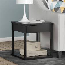 ... Large Size of End Table:akiko Mirrored Drawer Endle By Inspire Q Bold  Stunning Photos ...