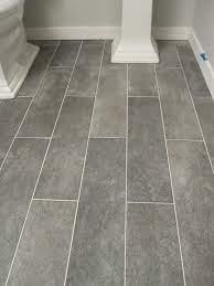 Wide Plank Tile For Bathroom Great Grey Color Home Remodeling Bathroom Makeover Flooring