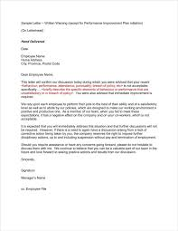 9 Late Warning Letter Examples Free Word Pdf Format Download