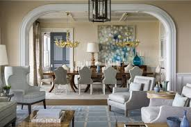 dining room How 21 Famous Interior Designers Decorate a Dining Room Coastal  Dining Room design by