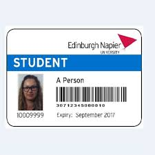 Card Napier University Id Replacement Edinburgh