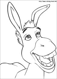 Small Picture Heres a donkey you might know to colour in To meet the magical