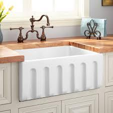 Fireclay Sink Reviews sinks glamorous fireclay apron sink fireclayapronsinkfireclay 4440 by xevi.us