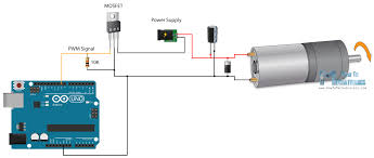 arduino dc motor control tutorial l298n pwm h bridge arduino motor circuit arduino motor diagram