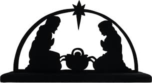 free nativity clipart silhouette. Exellent Nativity Silhouette Nativity Scene Clipart 1 To Free T