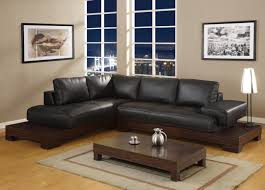 Living Room With Leather Furniture Minimalist Living Room Ideas With Black Leather Sofa White Most