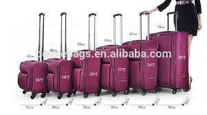 Travel Luggage Size Chart Alibaba Express Various Size Waterproof Airport Travel Trolley Luggage Bag Buy Waterproof Airport Travel Trolley Luggage Bag Top Brands Trolley