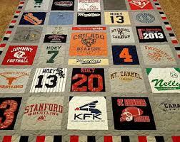 Tshirt quilt | Etsy & Tshirt quilt. Memory keepsake t-shirt quilts made from 9 to 49 tee shirt Adamdwight.com