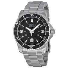 victorinox swiss army maverick black dial stainless steel mens zoom victorinox victorinox swiss army maverick black dial stainless steel mens watch 241697