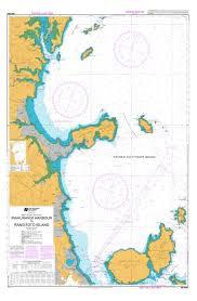 Sea Charts Nz Mahurangi Harbour To Rangitoto Island Land Information New
