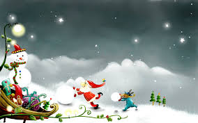 winter christmas desktop wallpaper. Fine Winter Wallpapers For Desktop With Winter Cartoon Happy Wallpaper Eve  Christmas Inside Winter Christmas Wallpaper T