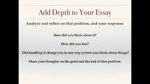 Common Application Essay 2015 16 How To Answer Prompt 4 Of The Common Application Whats Your Problem