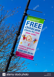 Free Childcare Advertising Nottinghamshire County Council Free Childcare Places For Two Year