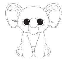 Coloring Ideas 49 Staggering Beanie Boo Coloring Pages Only Photo