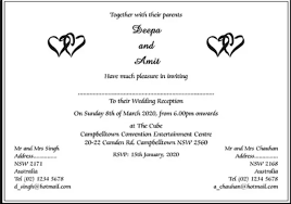 Wedding Inviting Words What Are Some Wedding Invitation Card Wordings To Give It To