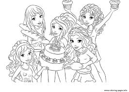 This game is known as no age limit. Lego Friends Food Coloring Pages Printable