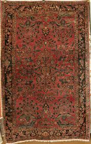 antique fine sarouk rug santa barbara design center rugore oriental carpet