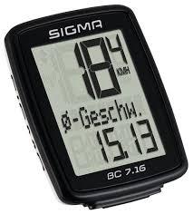 <b>Велокомпьютер SIGMA BC 7.16</b> ATS — купить по выгодной цене ...
