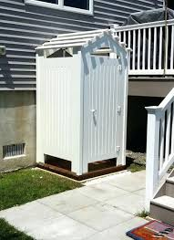 outdoor shower enclosure kit canada wood cape cod