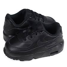 nike air max 90 leather td kie ney amax 90 baby sneakers 833 416 001 black