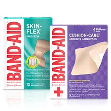 Band Aid Size Chart Band Aid Brand Adhesive Bandages First Aid Supplies