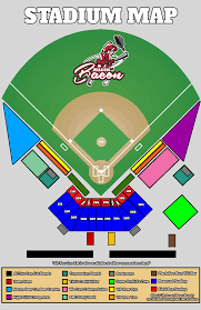 Stadium Map Macon Bacon Baseball