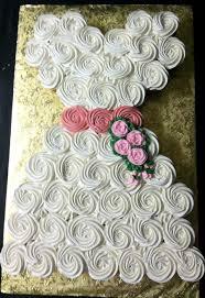 2113c wedding dress cupcake cake CAFé PIERROT