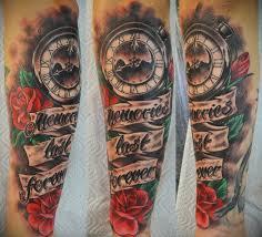 традиция 5 часов татуировка Tattoo тату Cziferblat Iliatattoo