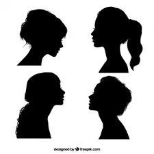 女性のシルエット に関するベクター画像写真素材psdファイル 無料