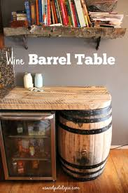wine barrel furniture plans. Full Size Of Uncategorized:beautiful Wine Barrel Bench Rustic Wood Top And Buffet Furniture Plans