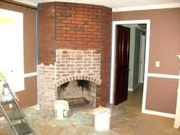 refinish fireplace reface brick fireplace refinish refacing ideas tile over awesome how
