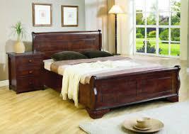 mahogany bed frame. Perfect Mahogany Image Is Loading 4FT6DOUBLE5FTKINGSIZE6FTSUPERKING And Mahogany Bed Frame T