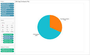 Pie Chart Tableau Two Measures Www Bedowntowndaytona Com