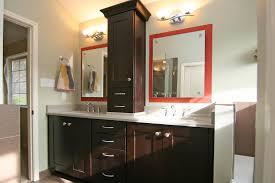 bathroom vanity storage. Advice Bathroom Vanity With Tower Linen Closet Storage Tall White Cabinet